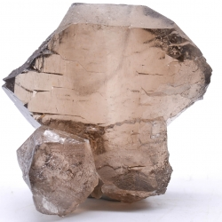 Gwindel quartz, sector of the giant's tooth, Mont-Blanc massif, Haute-Savoie, France.