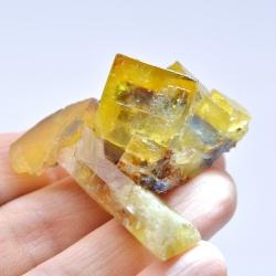 Fluorite and barite - Bergmännisch Glück mine, Germany