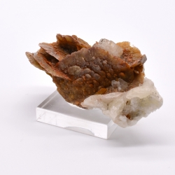 Siderite and calcite - La Mûre, Isère, France